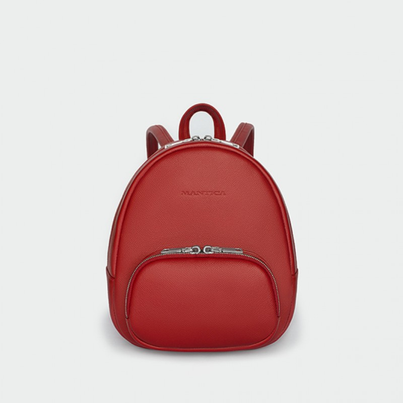 Backpack XS Red Saffiano